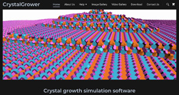 CrystalGrower software